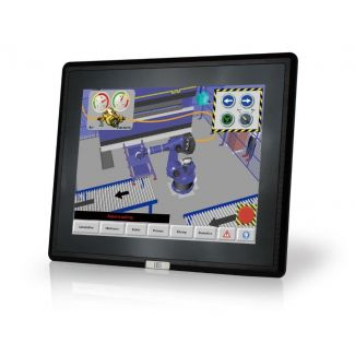 """DM-F24A, 24"""" LCD touch, 9~36VDC input"""